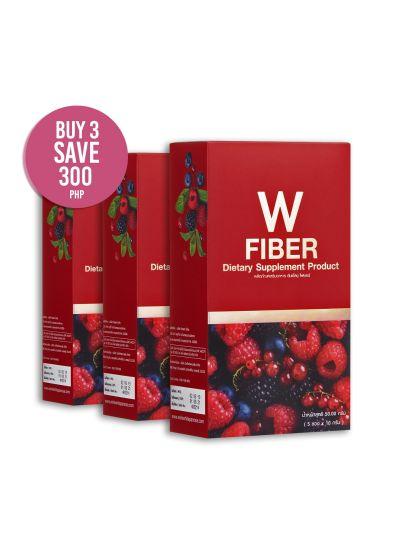 W Fiber: 3 Box Promo