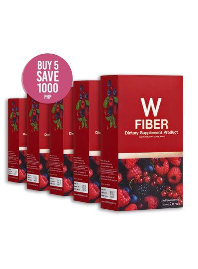 W Fiber: 5 Box Promo