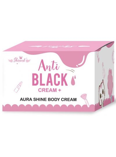 Anti-Black Cream: Aura Shine Body Cream